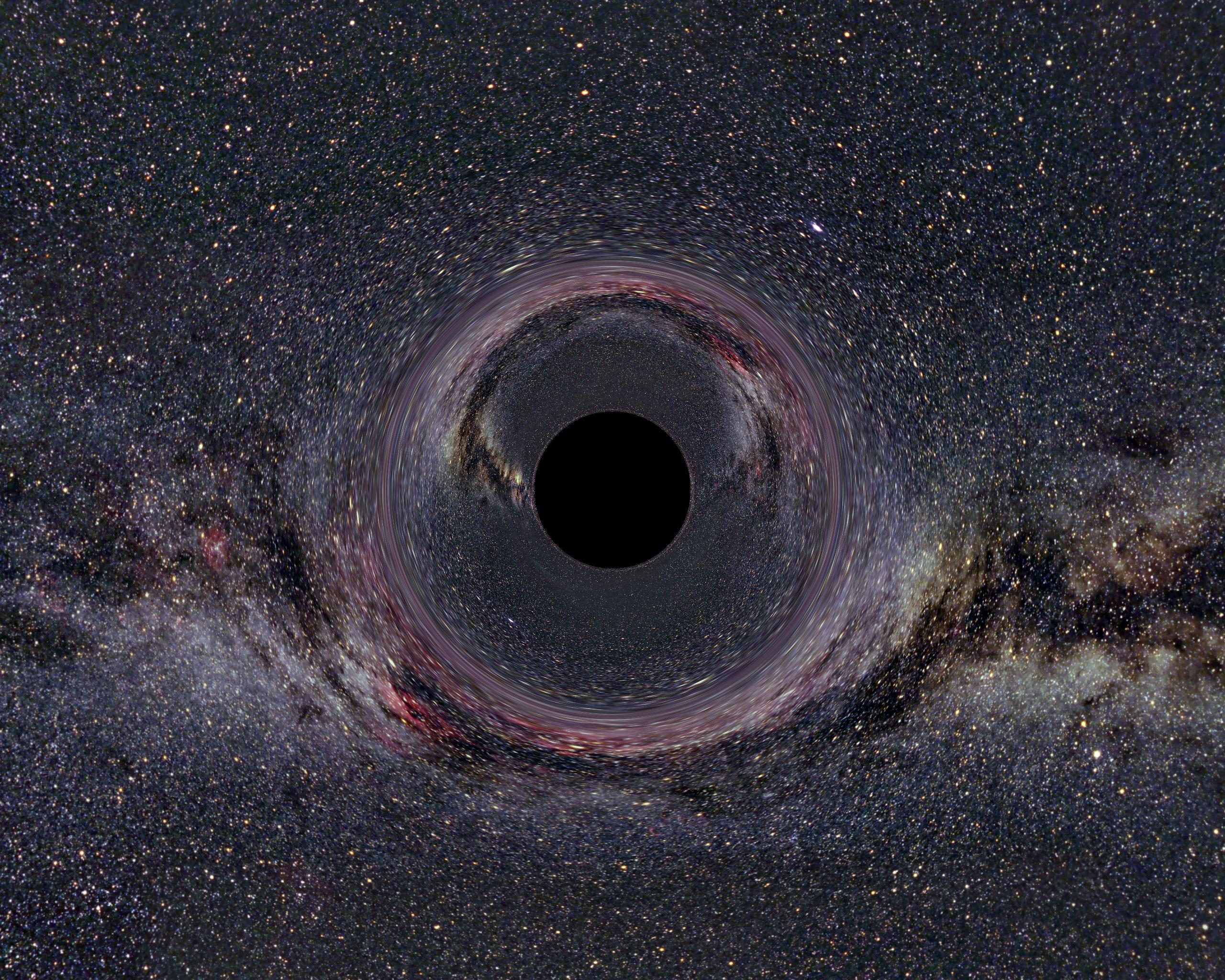 black holes in space - photo #12